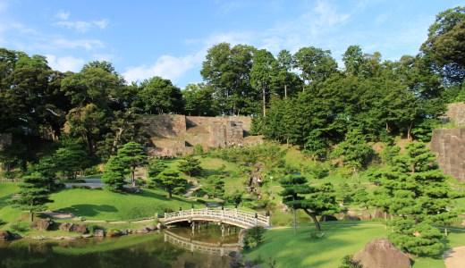 金沢城公園と玉泉院丸庭園へ行ってきた