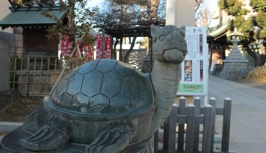 亀有香取神社へ行ってきた【東京の神社】