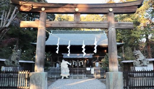【宇都宮】境内に初代横綱の像がある神社!蒲生神社へ行ってきた【栃木の神社】