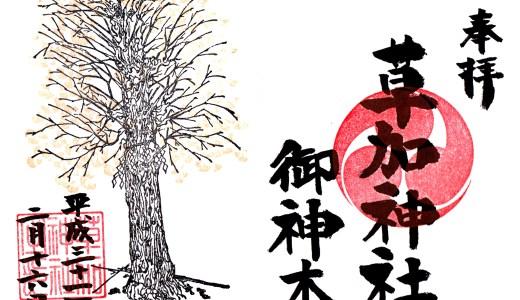【草加せんべいもちょっとだけ紹介!】草加神社へ行ってきた【埼玉の神社】