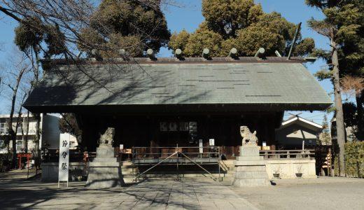 【所沢市】所澤神明社へ行ってきた【埼玉の神社】