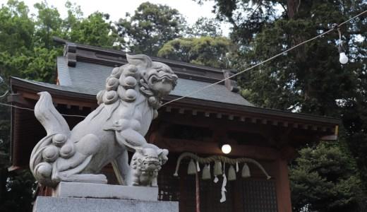 【守谷】大柏神社へ行ってきた【茨城の神社】