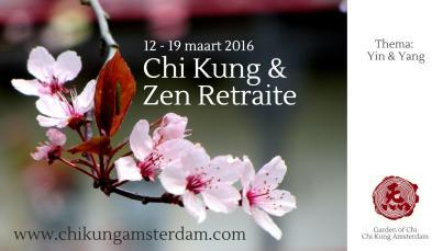 Chi Kung & Zen lenteweek, Cosima Scheuten, www.chikungamsterdam.com