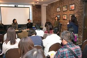 AMDA社会開発機構主催の「定住旅行家×NGOスタッフトークイベント ホンジュラスで輝く人」 早稲田奉仕園スコットギャラリー