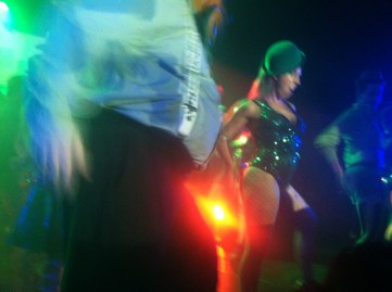 """It was """"Saint Patty's Day"""" themed...even though there was a French DJ."""