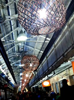 Chelsea Market lighting
