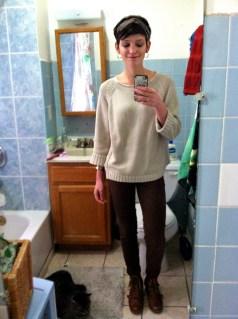 !!Full Length Bathroom Selfie!!