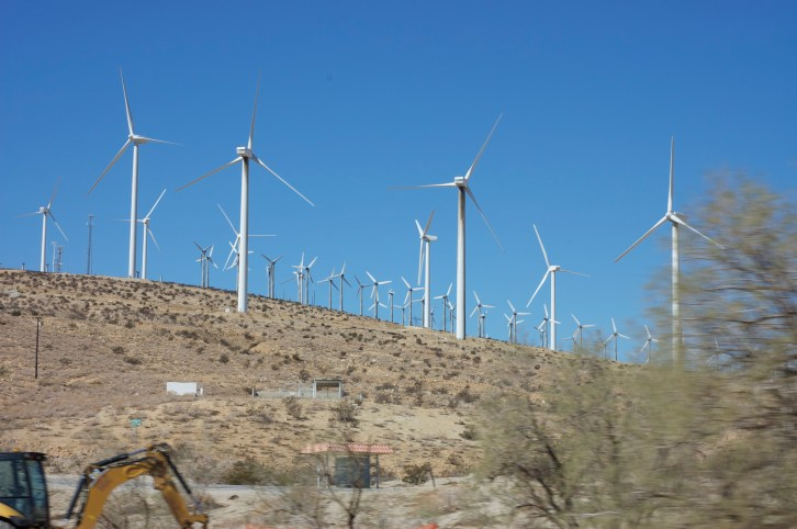 I love passing these windmills on the way to Joshua Tree.