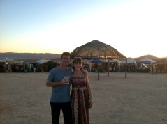 This is when the festival started getting better. Some pretty cool jam bands in the middle of the desert.