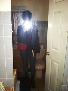 Tragically Hip mirror photo