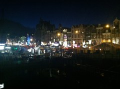 Amsterdam Christmas Market by night