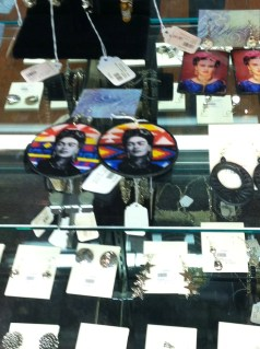 Frida Accessories in the gift shop