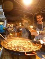 Street food in Covent Garden