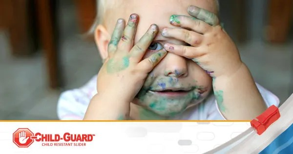 funny kid on child guard blog