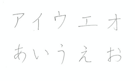 日本語の手書き文字(平仮名・片仮名)日本人のための人工知能プログラマー入門講座(機械学習)