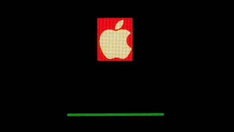 macOS Big Surをクリーンインストール中