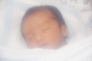 赤ちゃん寝顔男の子