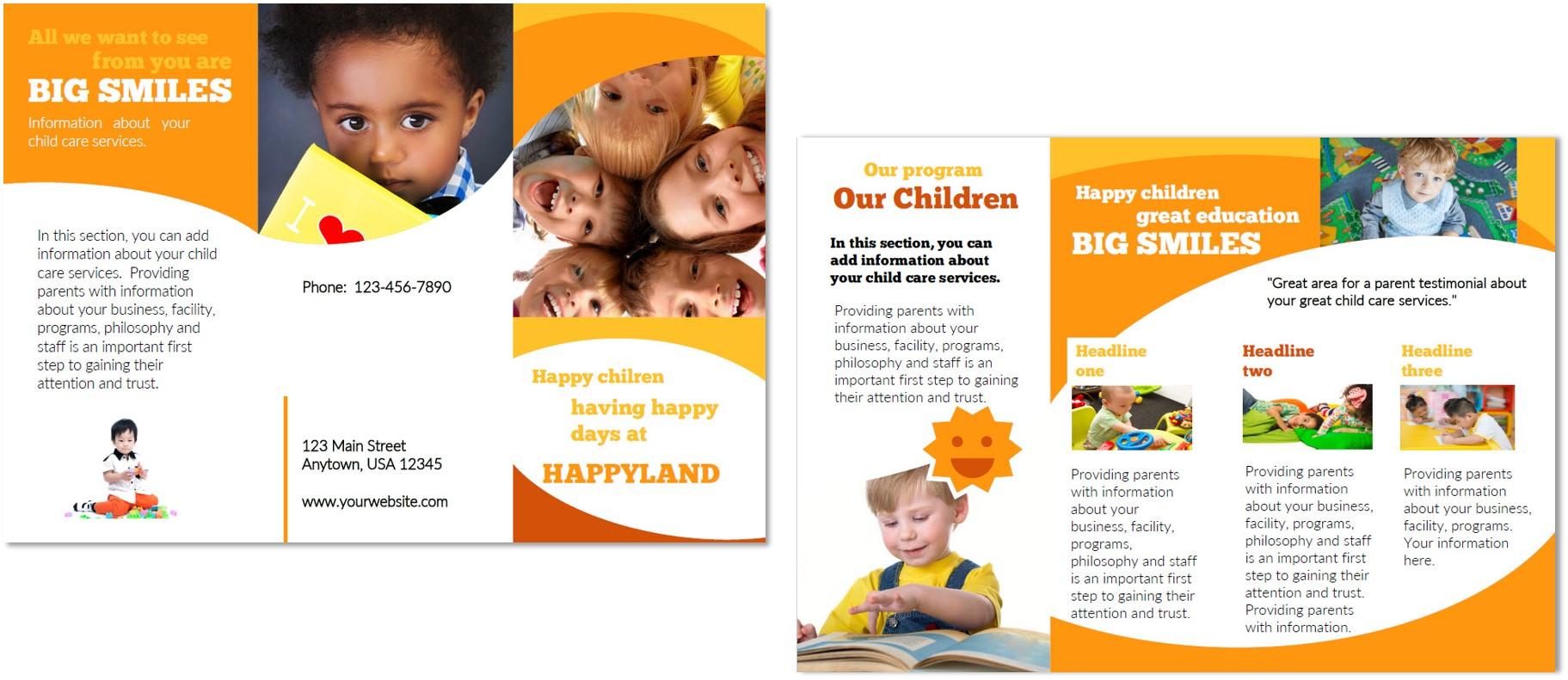 awi corporate event branding compoundeye 25 best free brochure – Sponsorship Brochure Template