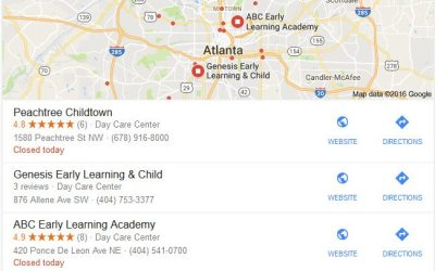 Free Child Care Marketing – Google My Business