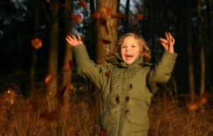 enthusiasm preschool girl