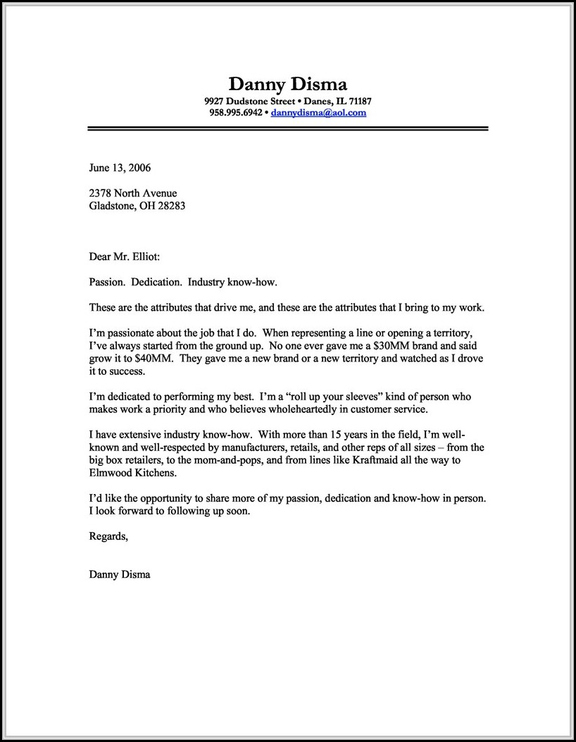Free Printable Cover Letter Templates