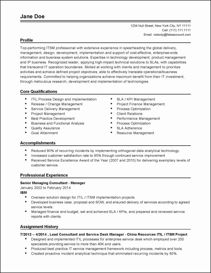 Sample Resumes And Cover Letters For Free