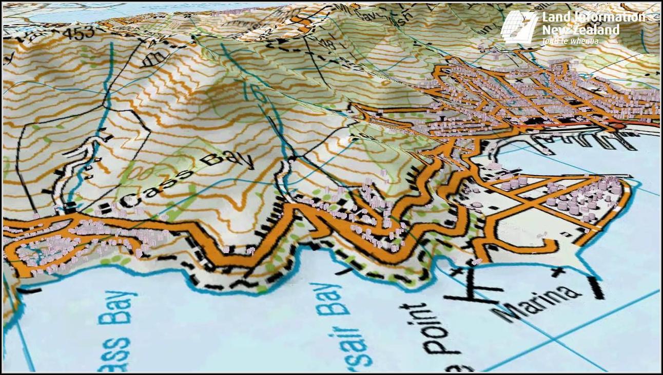 3d Topo Maps