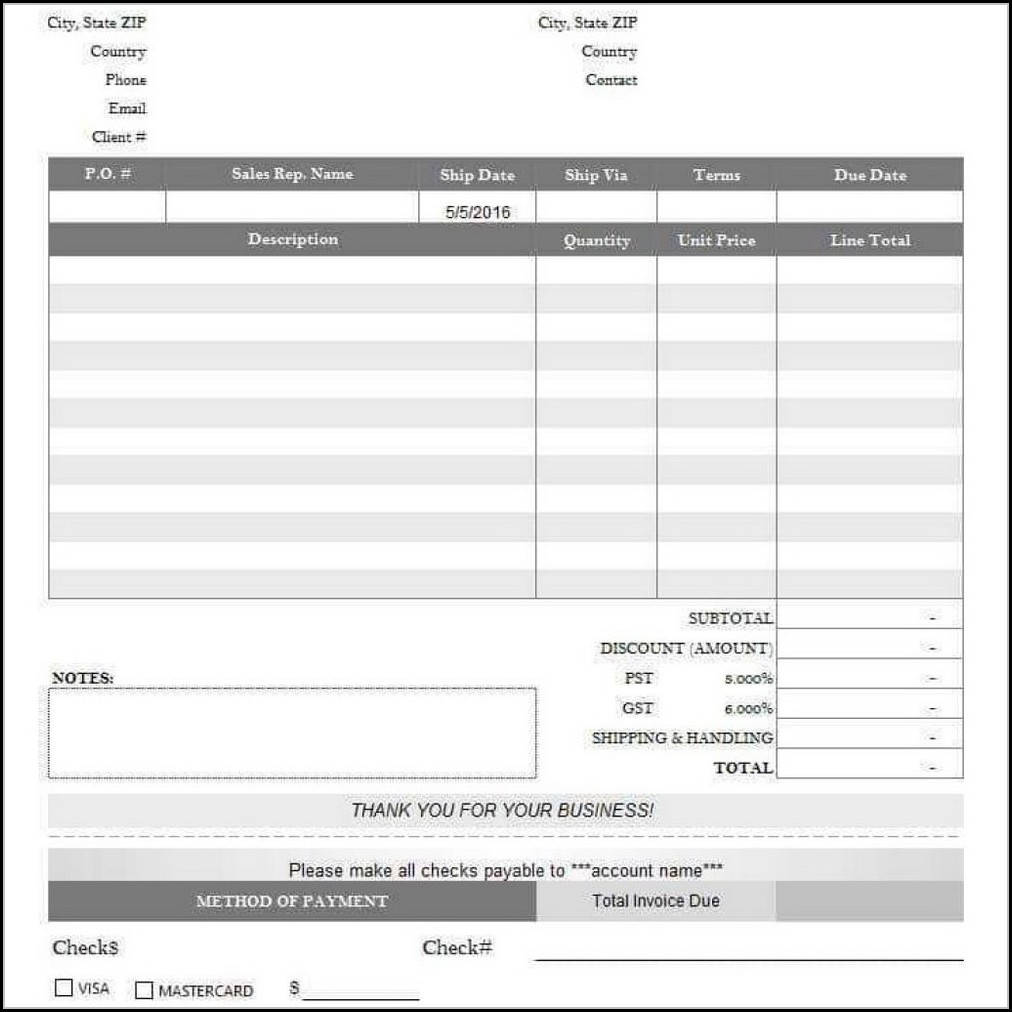 Aia Billing Form Excel