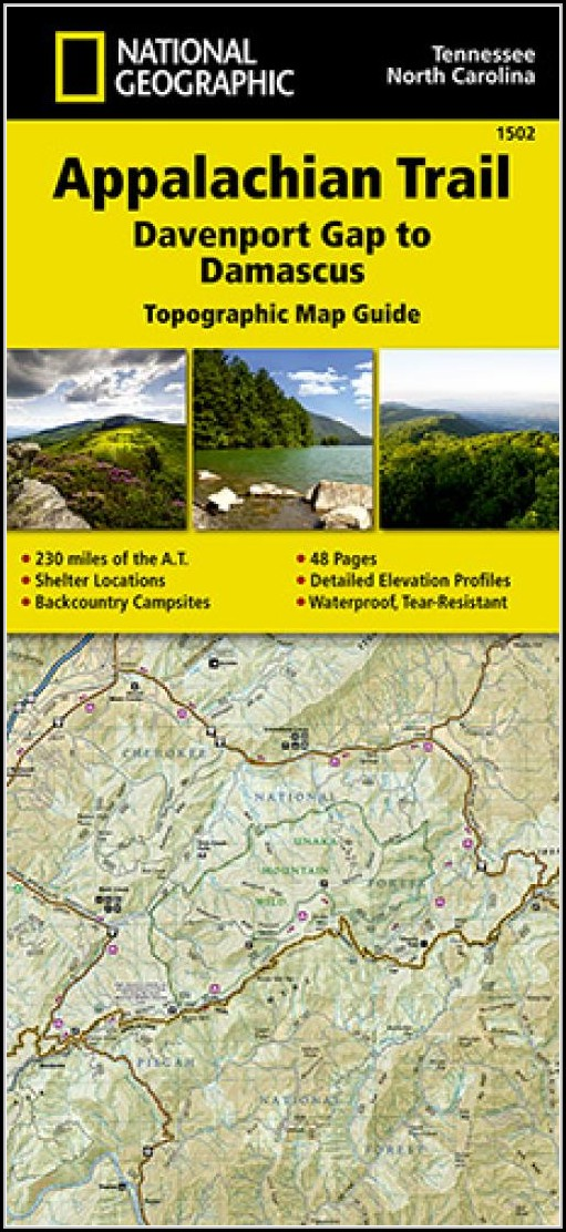 Appalachian Trail Map Nc