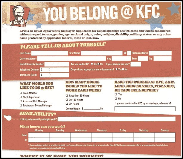 Apply Job Kfc