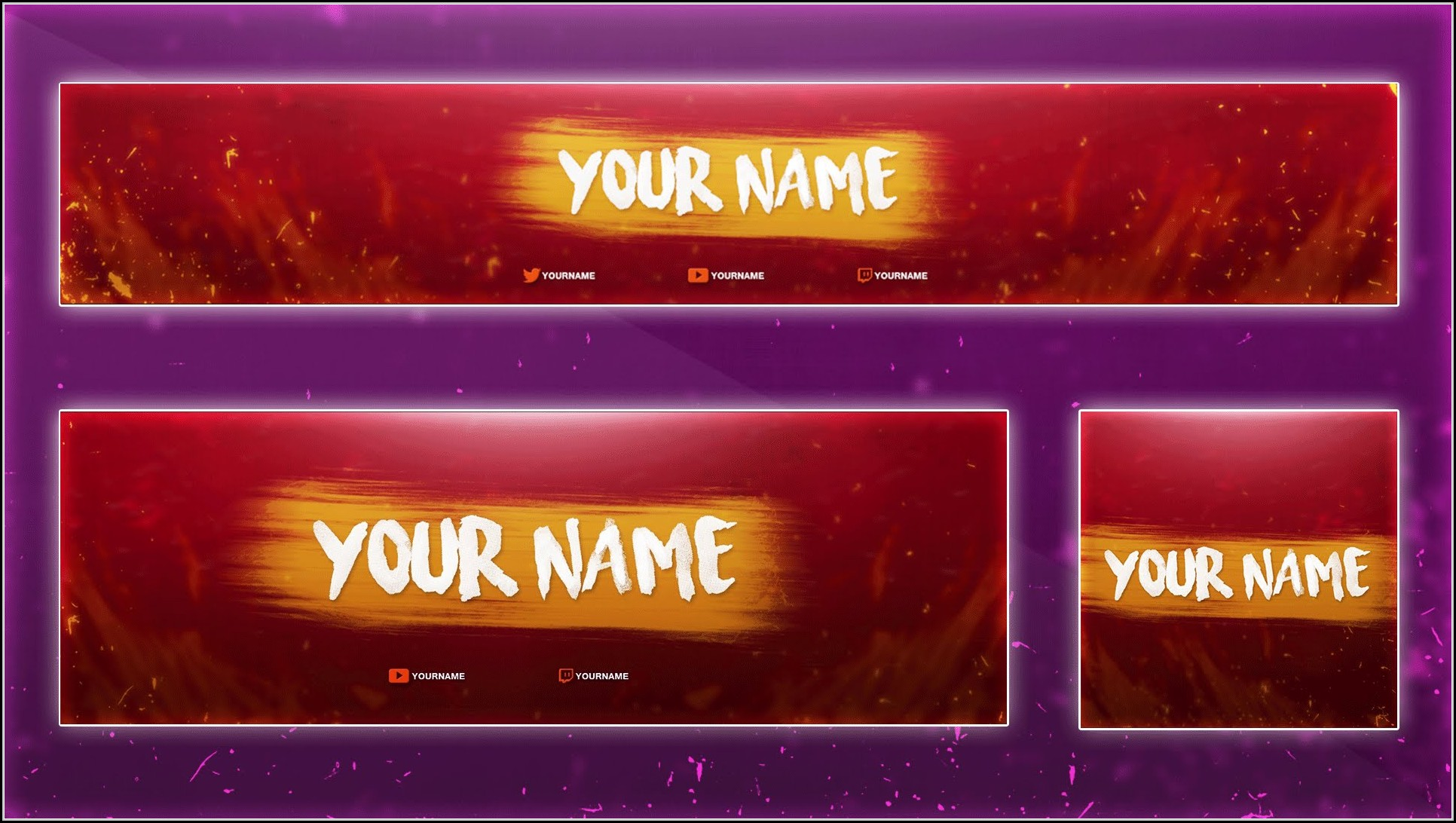 Banner Template Photoshop Free Download