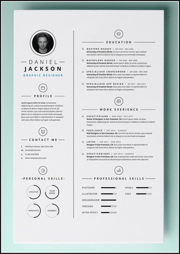 Best Free Resume Templates For Mac
