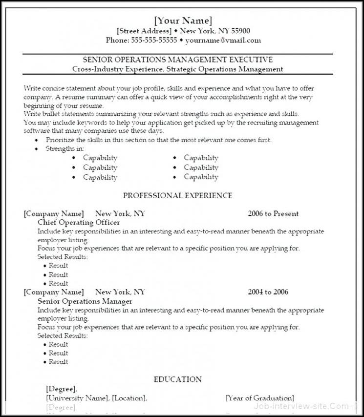 Best Free Resume Templates Reddit