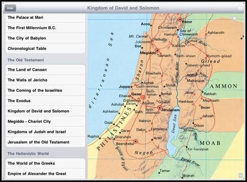 Bible Maps App