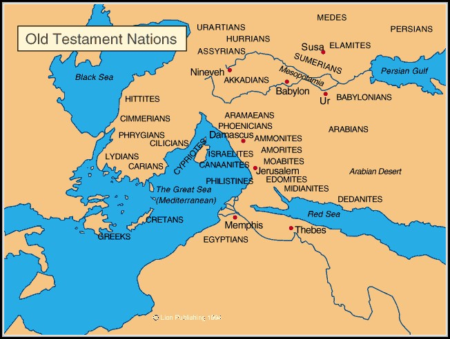 Bible Maps Old Testament