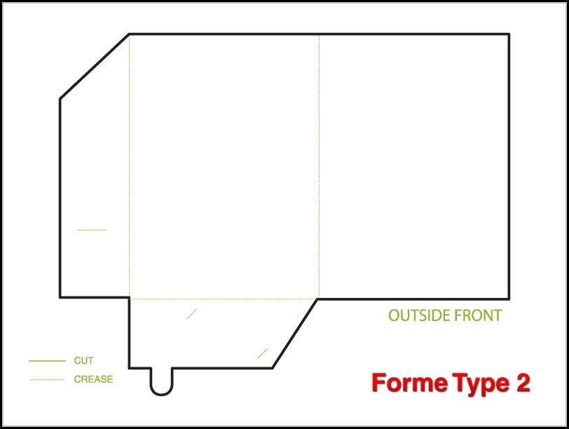 Brochure Folder Template