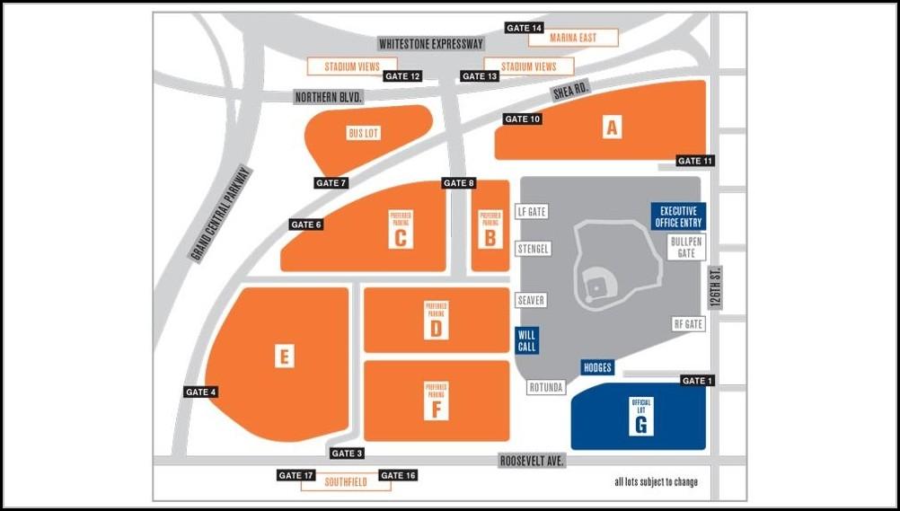 Coors Field Parking Map Lot B