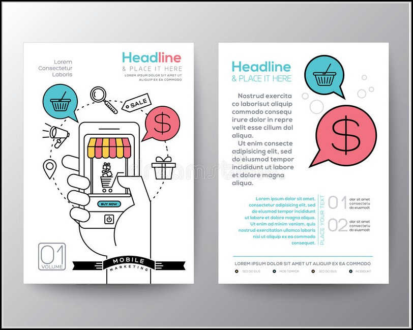 Digital Marketing Brochure Templates