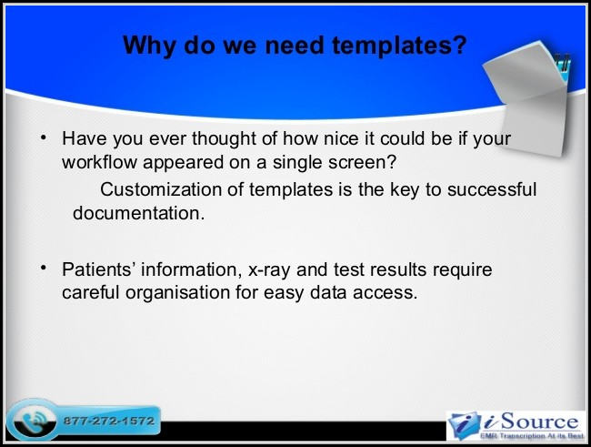 Ehr Documentation Templates