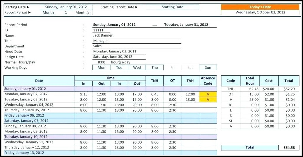 Excel Relational Database Template