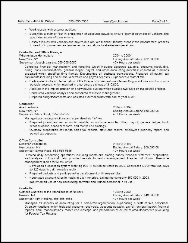 federal resume writers