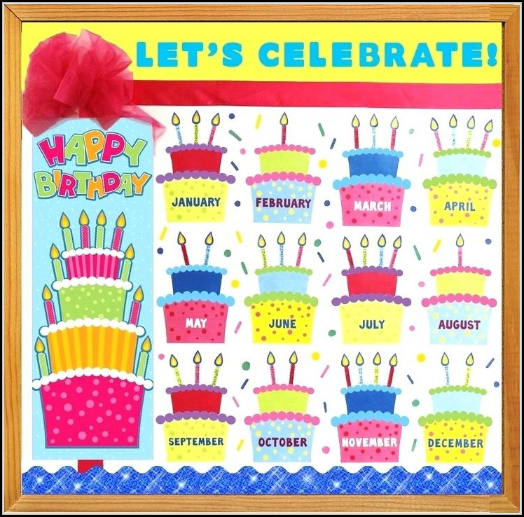 Free Birthday Bulletin Board Templates
