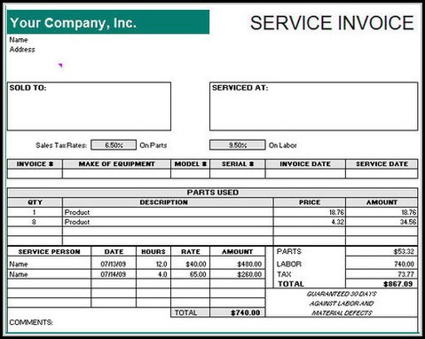 Free Payment Receipt Template Download
