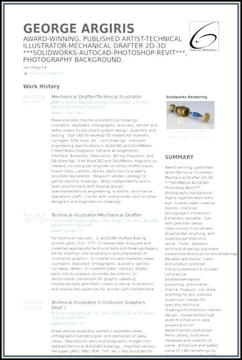 Free Resume Layout Design