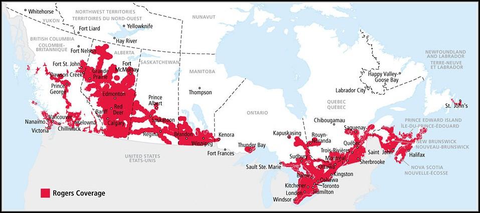 Garmin Canada Map