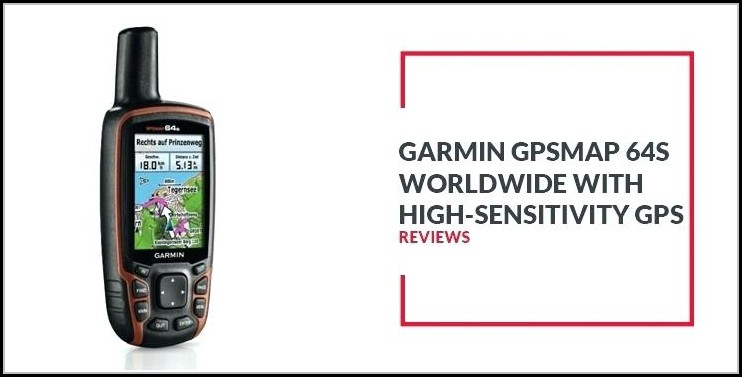 Garmin Map 64s Manual