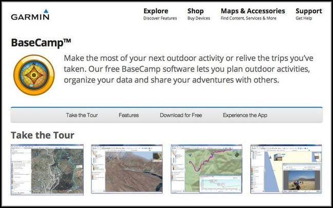 Garmin Mapping Software