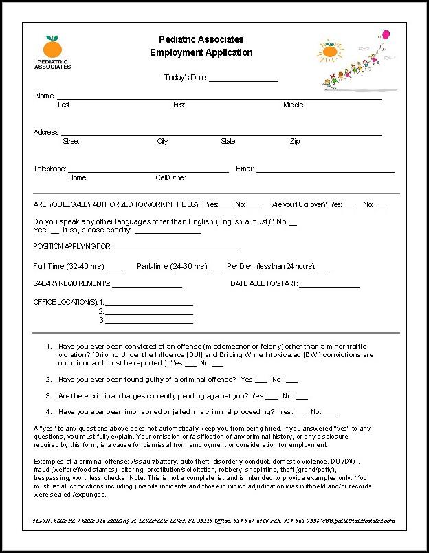 Gate Gourmet Job Application Form