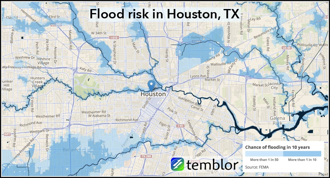 Houston Flood Map Live
