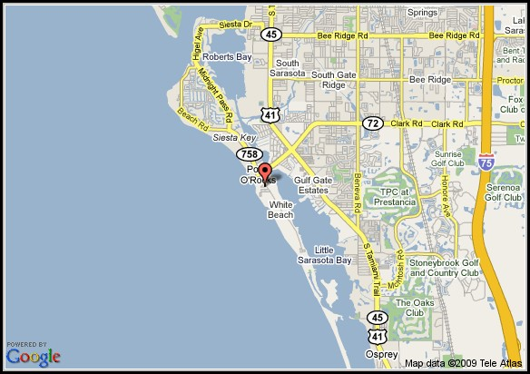 Map Of Sarasota Florida Beaches